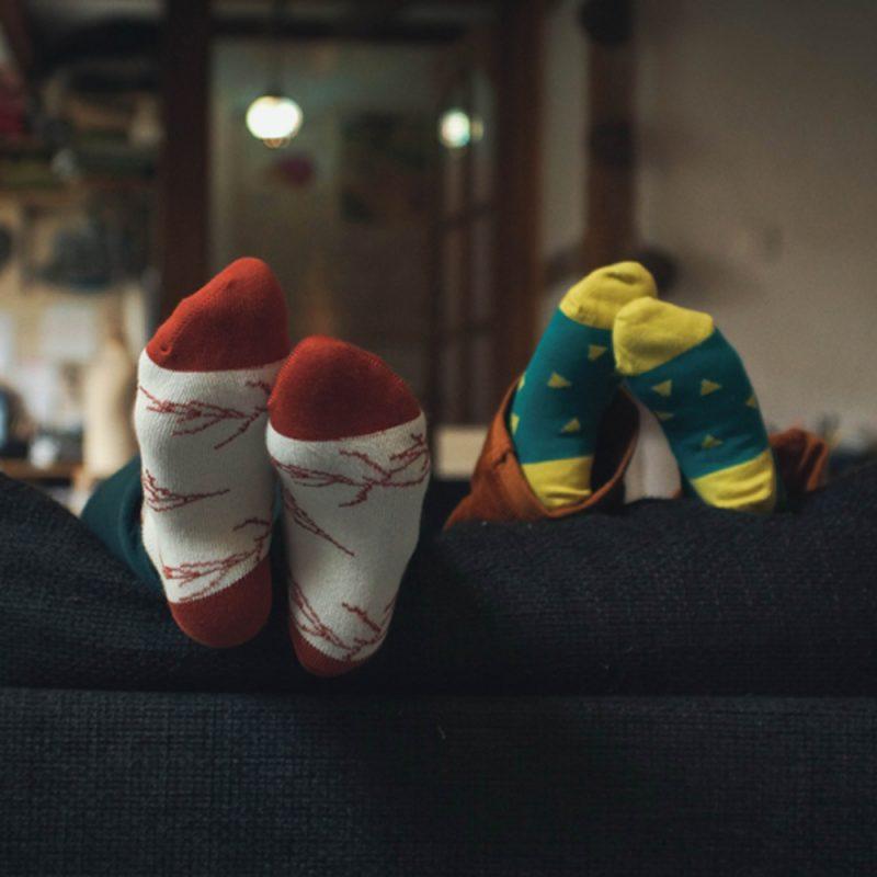 Les chaussettes de l'hiver par Minabulle