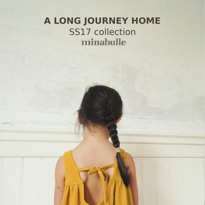 Lancement de la collection a long journey home vêtements enfants Minabulle