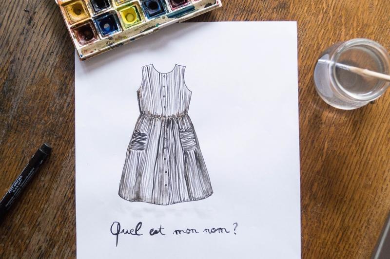 Quel est le nom de cette jolie future robe Minabulle?