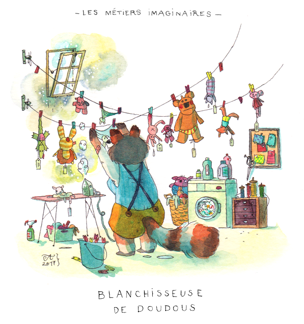 Interview Anne Montel illustratrice par Minabulle
