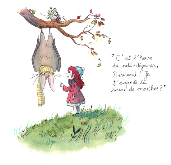 Interview Anne Montel illustratrice par Minabulle