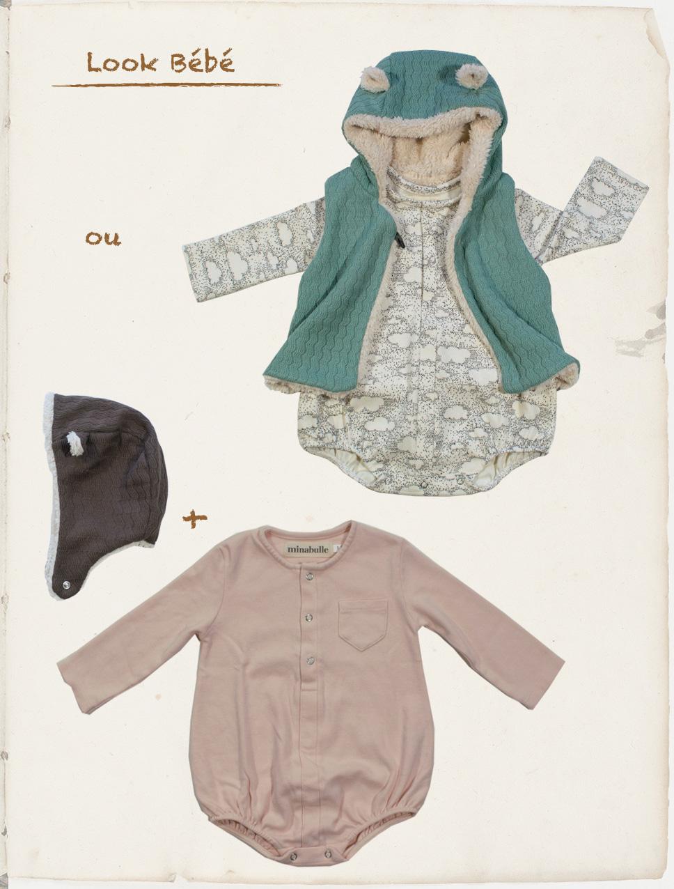 tenues bébé septembre 2018 Minabulle inspiration