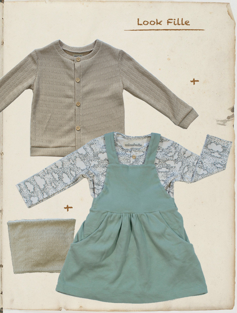 tenue fille rentrée septembre 2018 minabulle collection Daydream vêtements enfants