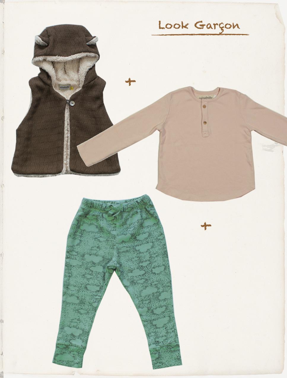 tenue garçons octobre 2018 minabulle collection Daydream vêtements enfants