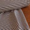 tissu jersey a rayures