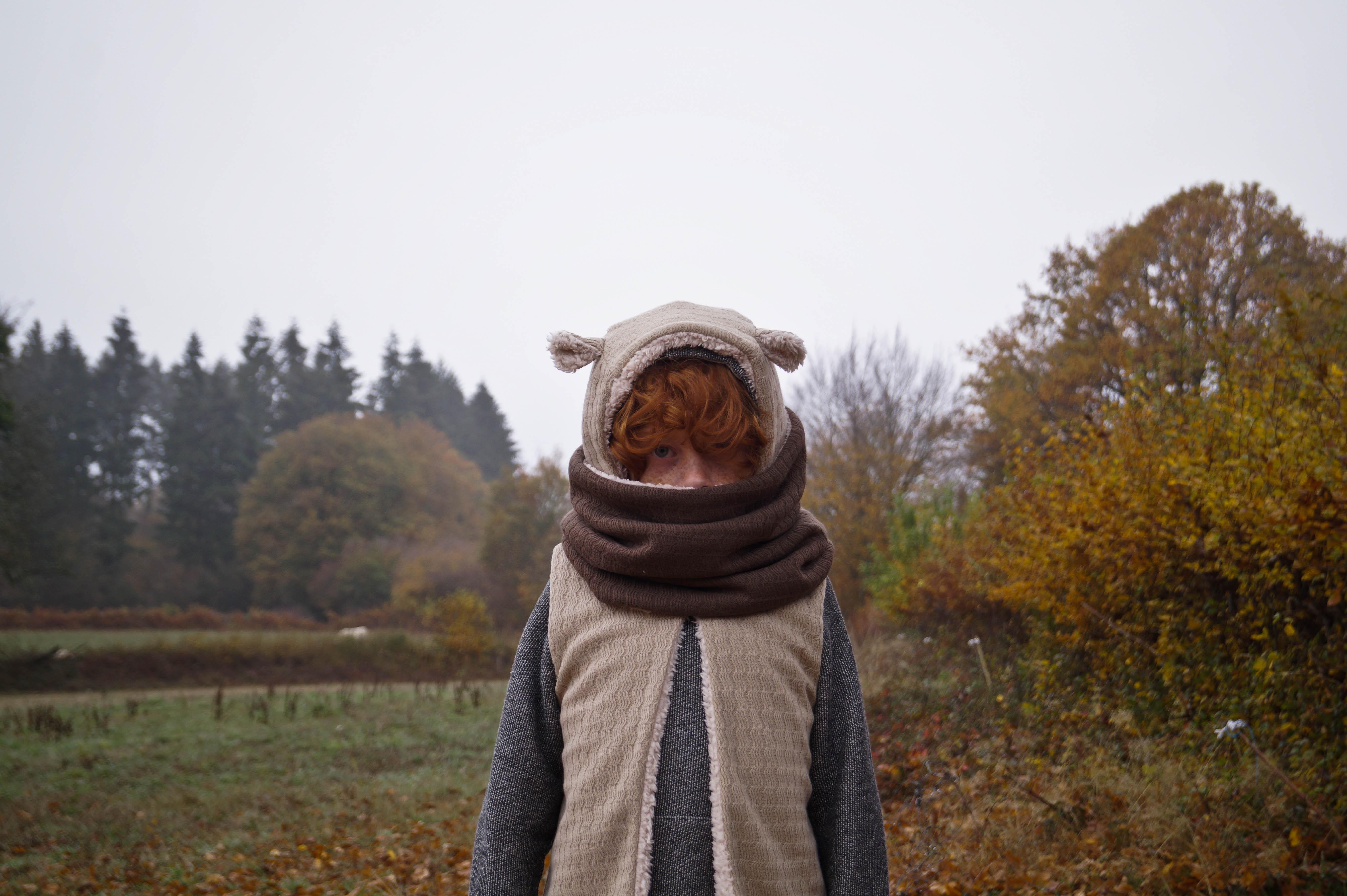 Shooting automne Minabulle garçon raleur