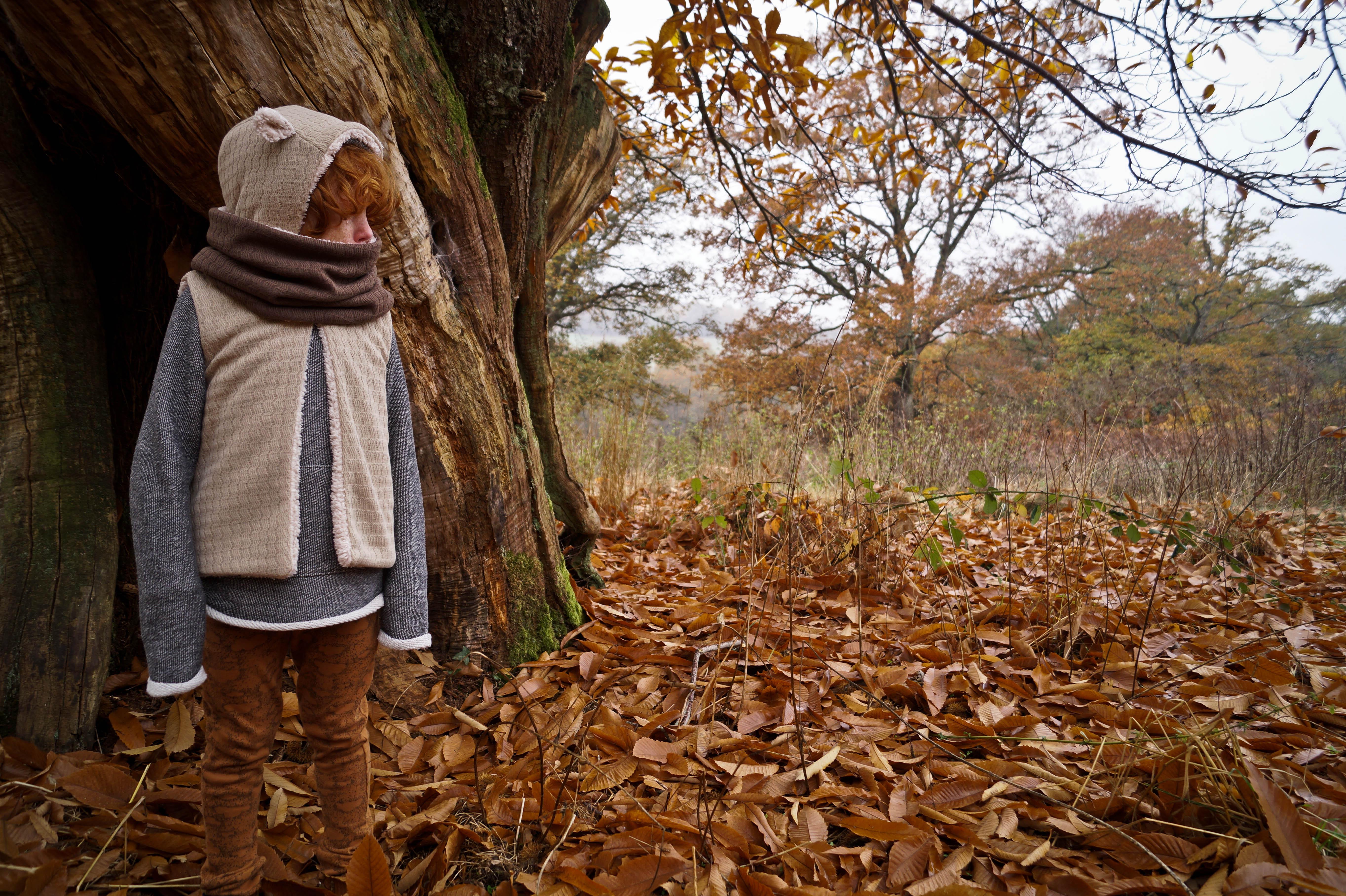 Shooting automne Minabulle garçon raleur wood