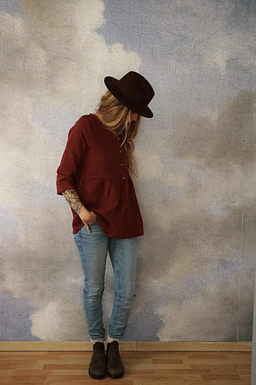 blouse Nora marsala