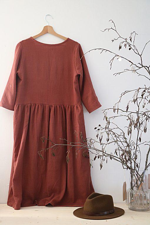 robe marcelline marsala