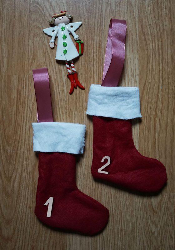 diy tuto chaussette du Père Noël Minabulle