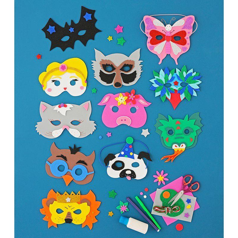 Marie-Claire Idées masques enfants Mardi Gras