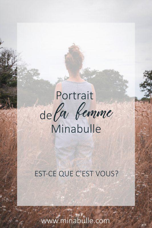 portrait de la femme minabulle