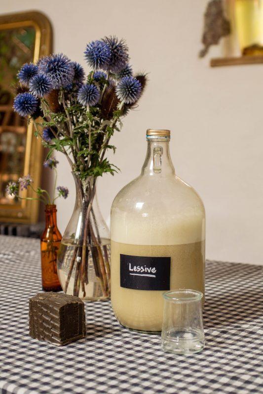 recette de lessive au savon de Marseille
