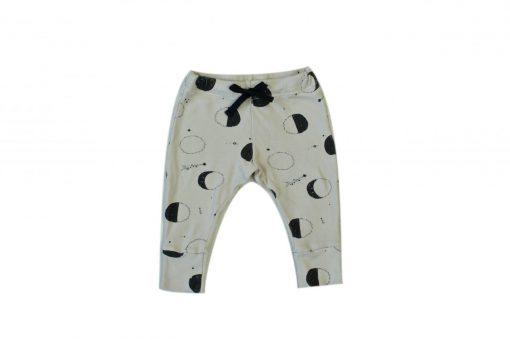 pantalon legging pour enfant et bébé imprimé lunes