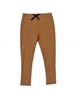 pantalon legging pour enfant et bébé cannelle