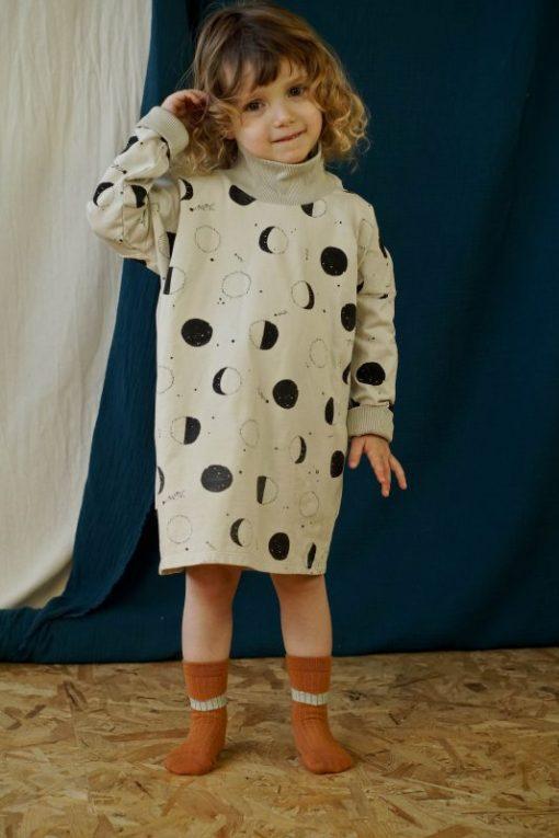 robe sweat imprimé lunes