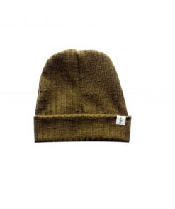 bonnet loose enfant tricot bronze
