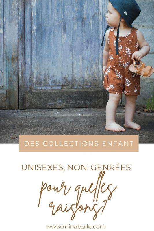 collections enfant unisexes non-genrées