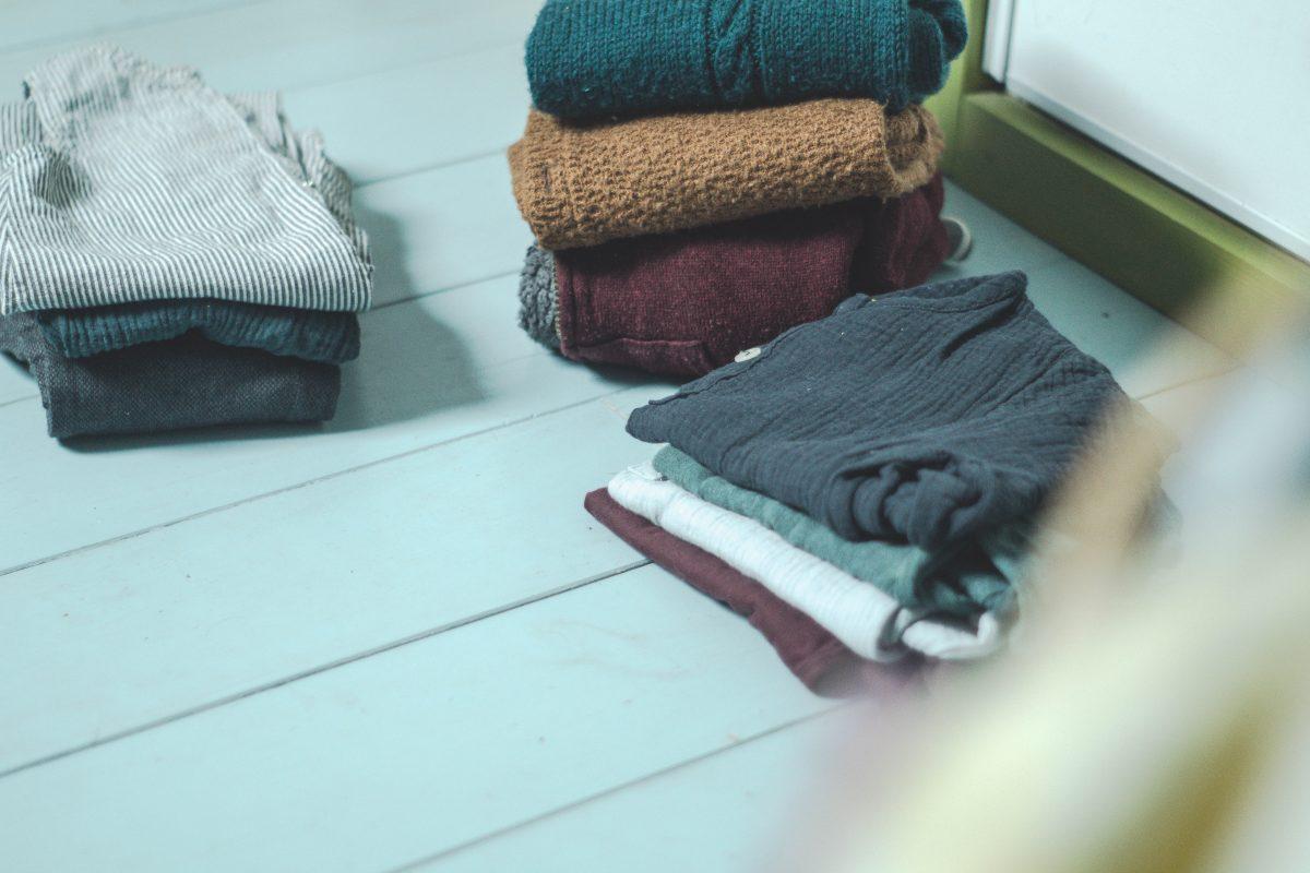 garde-robe minimaliste: que faire des habits trop petits ou usés