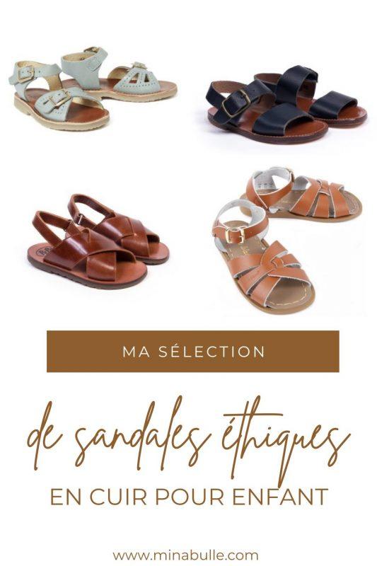 sandales ethiques pour enfant