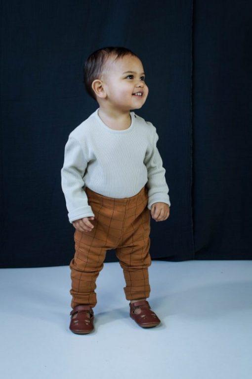 pantalon legging unisexe cannelle Minabulle coton bio