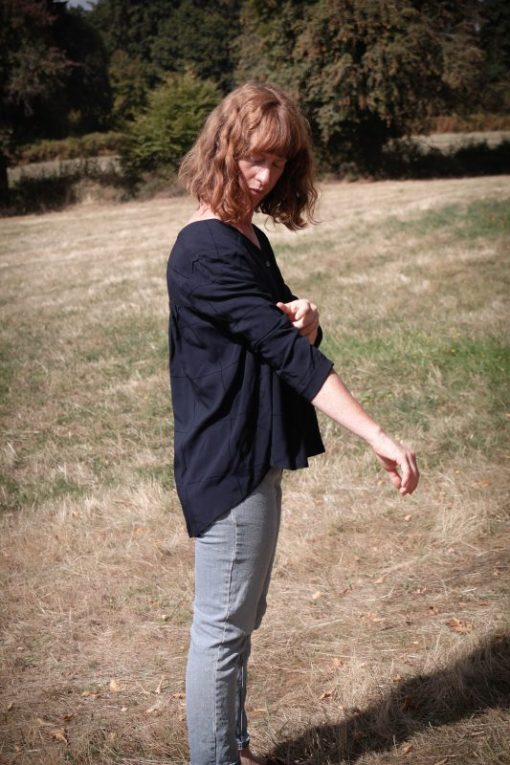 blouse loose viscose Minabulle