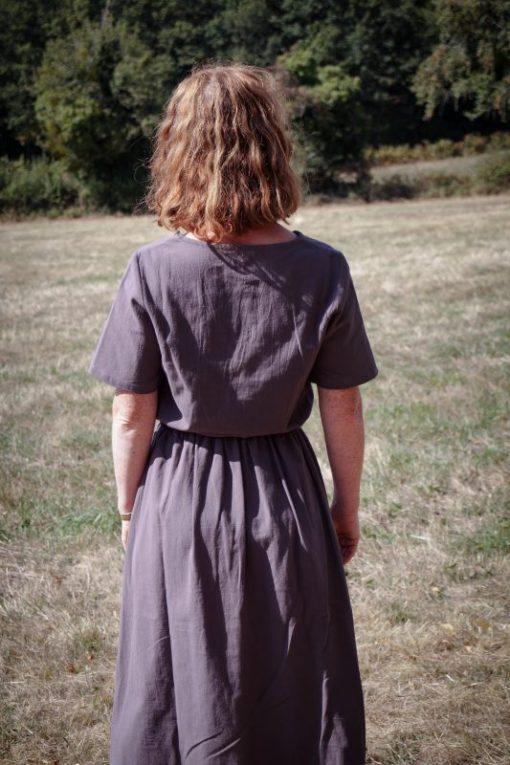 robe femme gris Minabulle