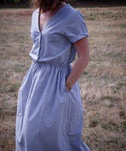 robe femme rayures Minabulle