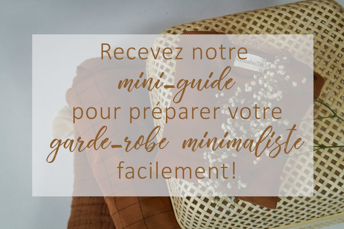mini-guide garde-robe minimaliste