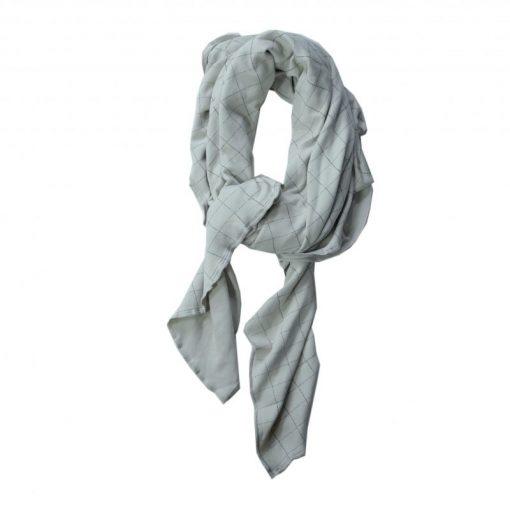 lange xl coton bio gris Minabulle