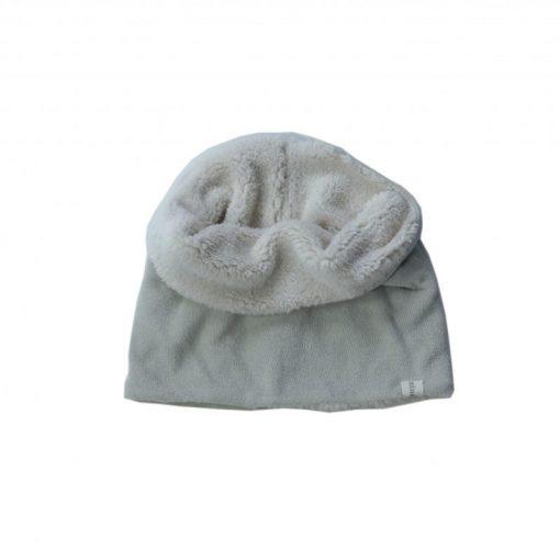 snood gris Minabulle