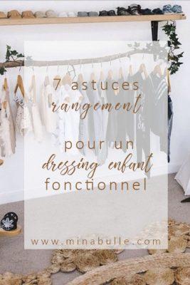 astuce rangement dressing