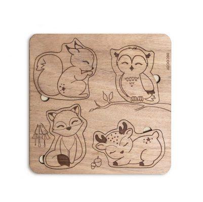 puzzle bois decocot
