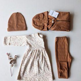 robe NORA – imprimé feuilles