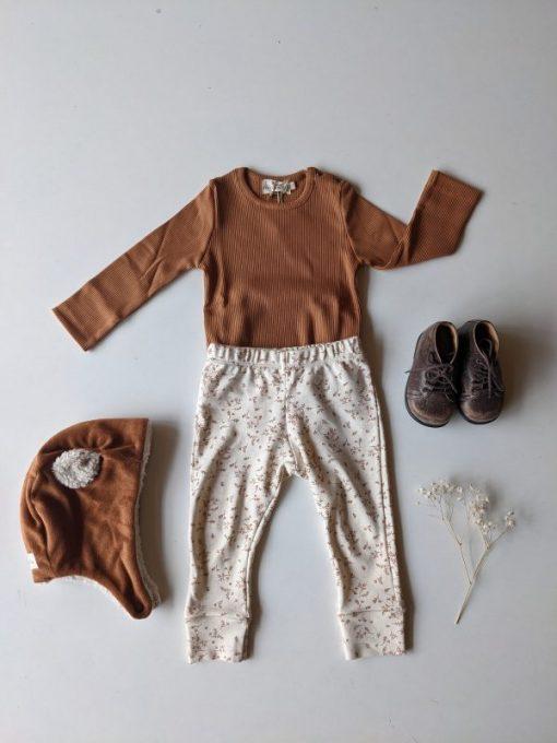 tenue bébé unisexe cannelle