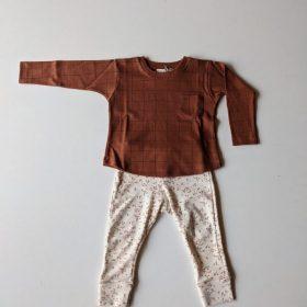 pantalon ALBA – imprimé feuilles