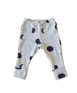 pantalon legging imprimé lunes Minabulle