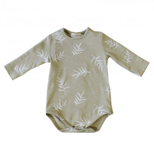 body imprimé feuilles