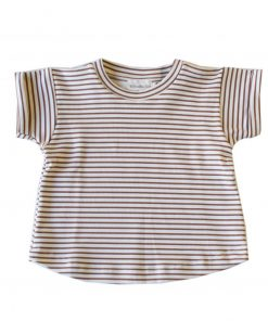 tshirt enfant rayures cannelle