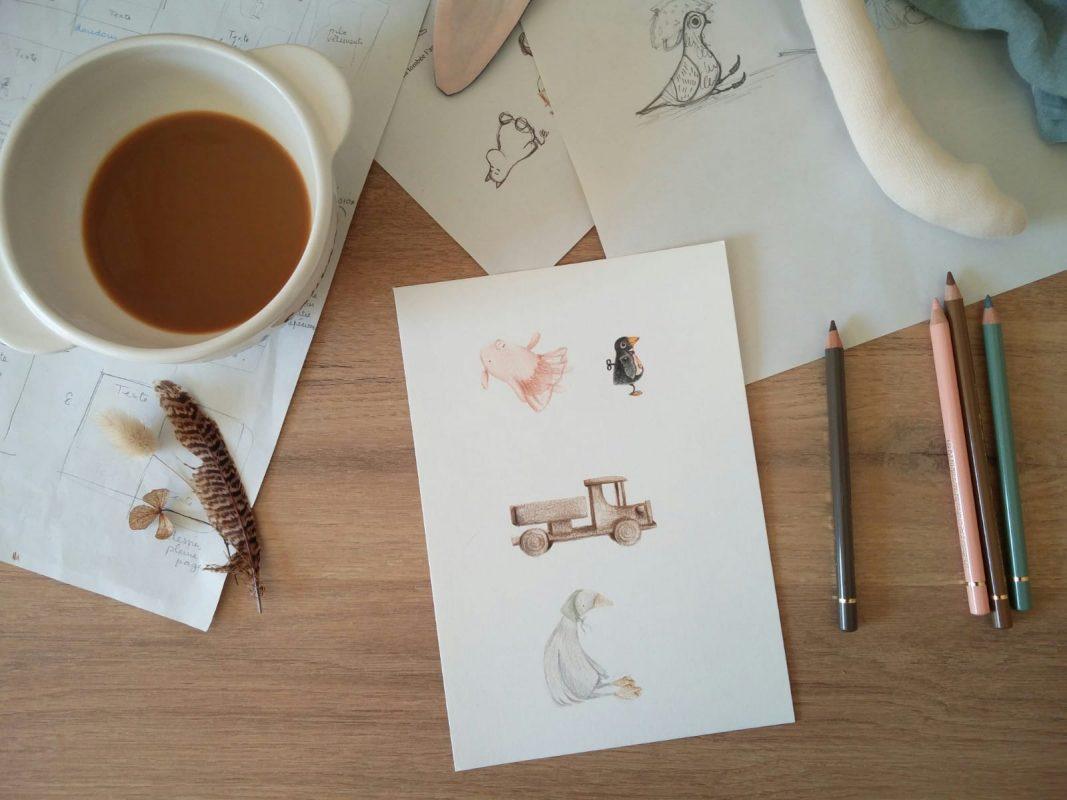 illustrations livre pour enfant Libre