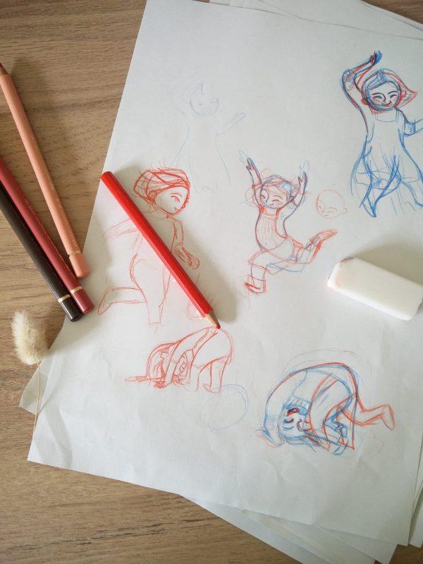 croquis illustrations Libre