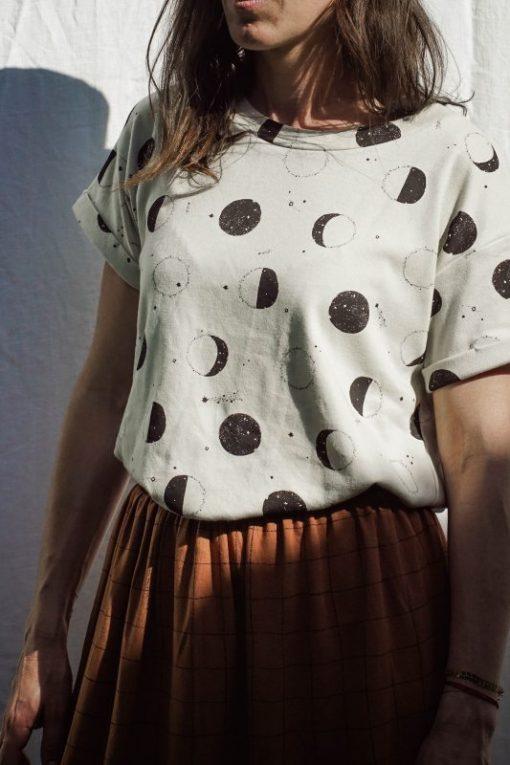 t-shirt femme lunes Minabulle