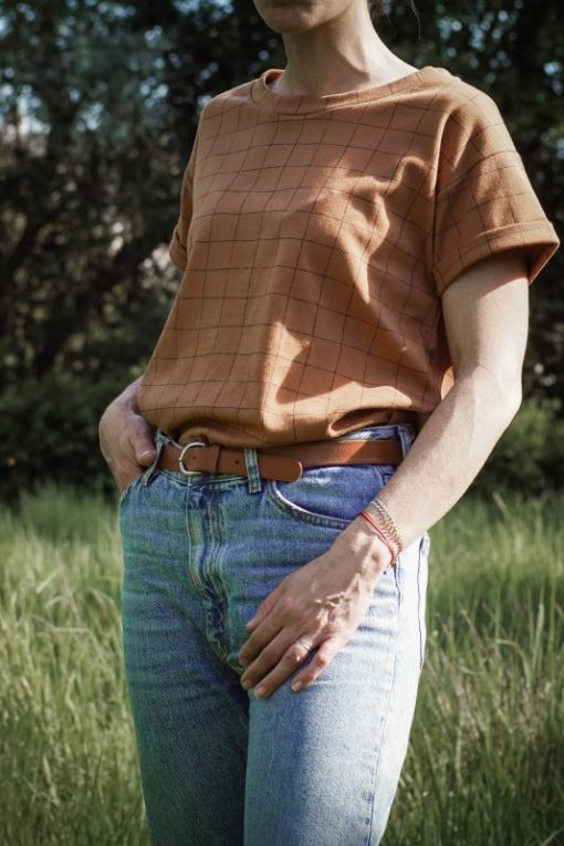 t-shirt femme cannelle Minabulle